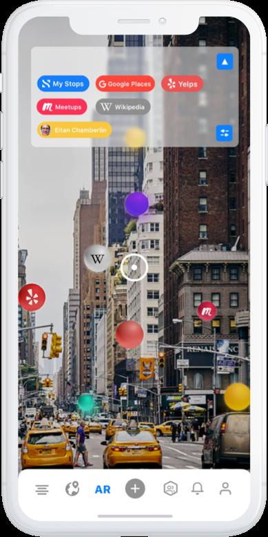 AR Discover on iOS